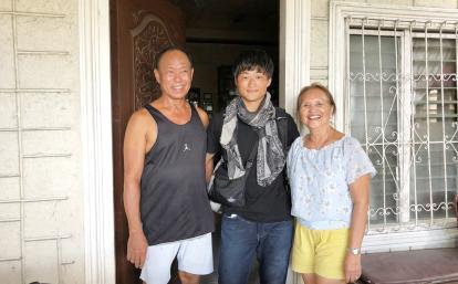 日本人英語留学生とフィリピンのホストファミリー
